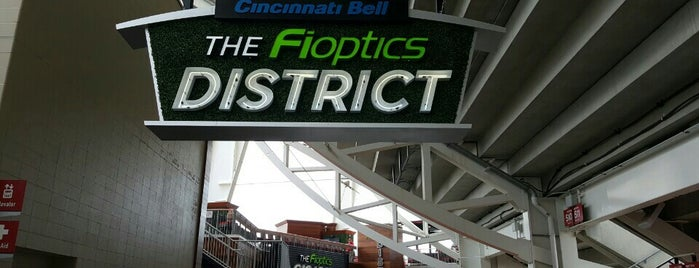 The Fioptics District by Cincinnati Bell is one of Lugares favoritos de Theodore.