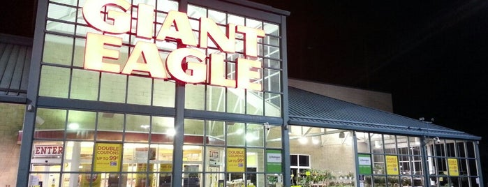 Giant Eagle Supermarket is one of Johnさんのお気に入りスポット.