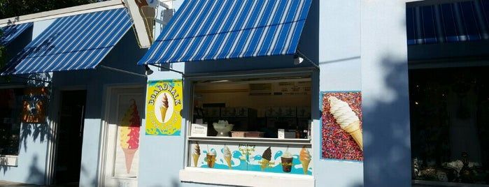 Boardwalk Frozen Custard is one of Key West.