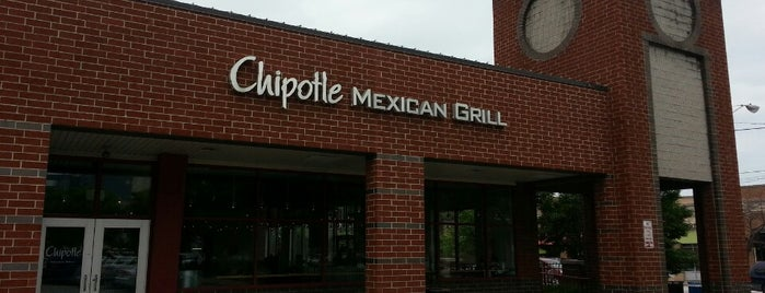 Chipotle Mexican Grill is one of John : понравившиеся места.
