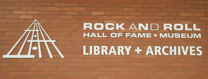 Rock and Roll Hall of Fame and Museum - Library & Archives is one of Lauren loves a Good Time.