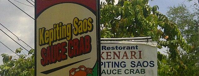 Kenari Sauce Crab is one of Locais curtidos por Winda.