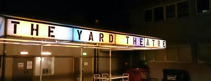 The Yard Theatre is one of Bitches City Guide: East London.