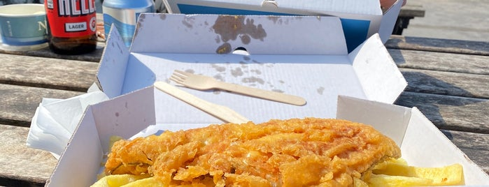 No 1 Fish & Chips is one of Norfolk.