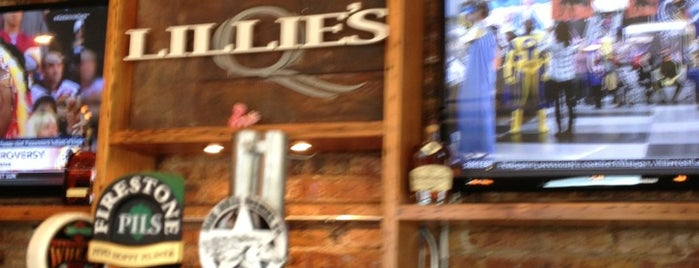Lillie's Q is one of United Mileage Plus Dining Spots.