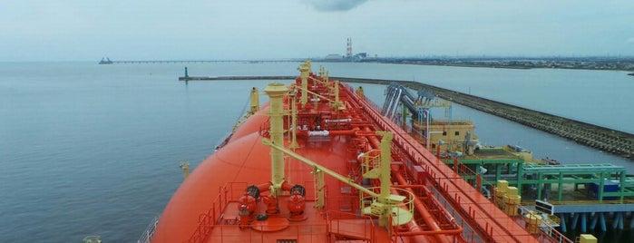 永新漁港 is one of สถานที่ที่ Angela ถูกใจ.