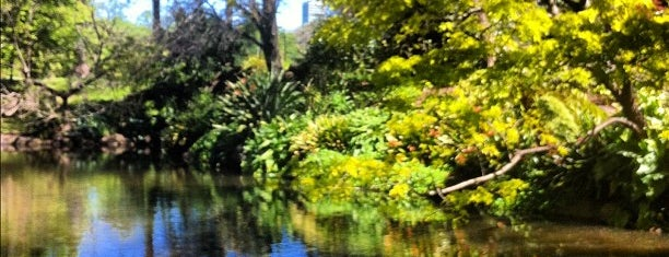 Royal Botanic Gardens is one of Melbourne.