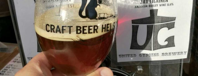 Craft Beer Helsinki 2017 is one of Orte, die Jari gefallen.
