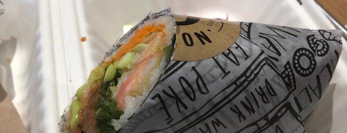 Rolltation Sushi Burrito is one of Toronto (Restaurants).