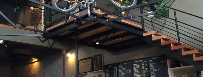 Arnold Cycling Cafe is one of Cafe Hop PG.