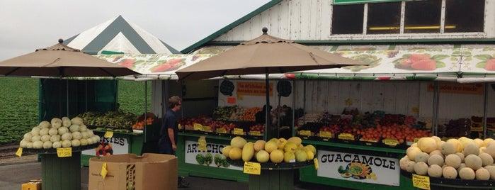 Barn Fresh Produce is one of HWY1: Santa Cruz to Monterey/Carmel.