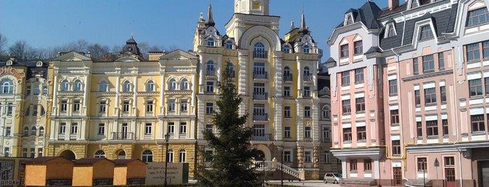 Площа Мистецтв (Сквер на Воздвиженській) is one of ✔ Ukrayna - Kiev.