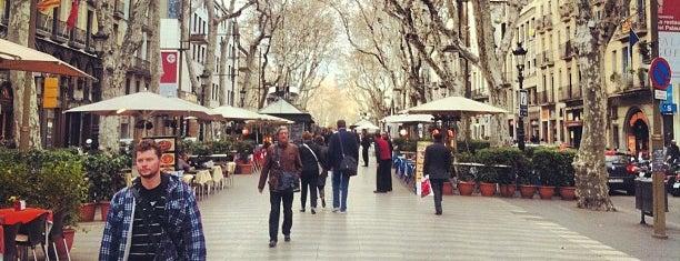 La Rambla is one of Barcelona Weekender.
