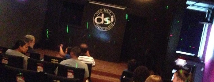 DSI Comedy Theater is one of Laughs, Movies, Plays, Blackjack.