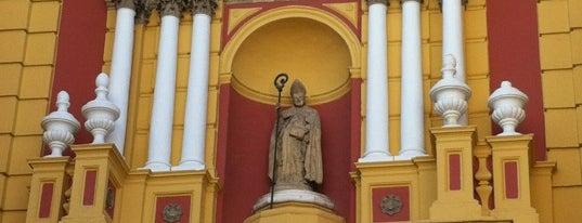 Iglesia de San Ildefonso is one of Cosas que ver en Sevilla.