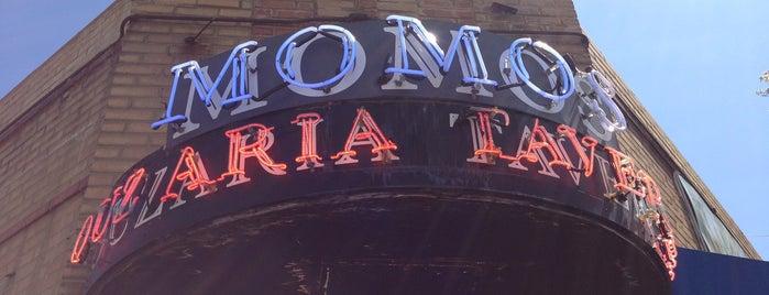 Momos Greek Tavern is one of Date night.