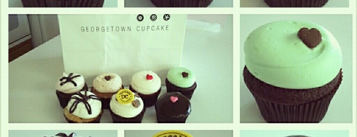 Georgetown Cupcake is one of dc.