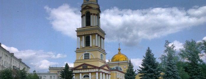 Соборная площадь is one of Orte, die Мария gefallen.