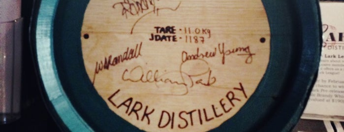 The Lark Distillery is one of Top picks for Bars.