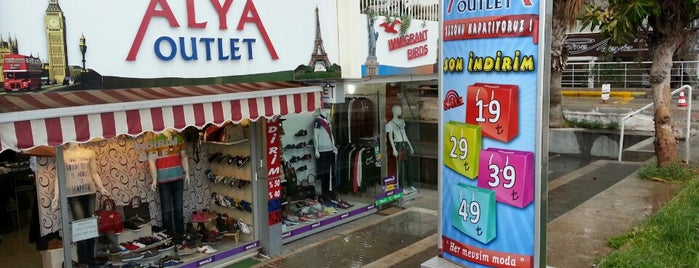 Alya Outlet is one of Trip.