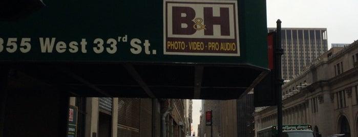 B&H Photo Video is one of Nova York.