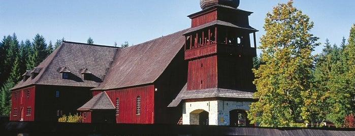 Drevený artikulárny kostol is one of UNESCO World Heritage Sites in Eastern Europe.