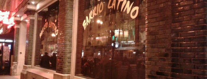 Barrio Latino is one of Paris.