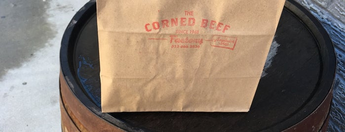 The Corned Beef Factory is one of Lugares favoritos de Leland.