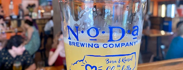 NoDa Brewing Company North End is one of Breweries Visited.