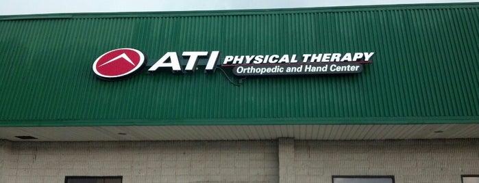 ATI Physical Therapy is one of Posti che sono piaciuti a Tracey.