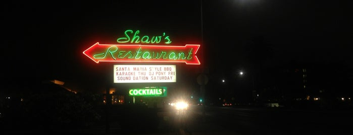 Shaw's Steakhouse is one of Sergio M. 🇲🇽🇧🇷🇱🇷 님이 저장한 장소.