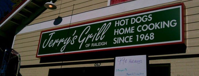 Jerry's Grill is one of Raleigh Favorites II.