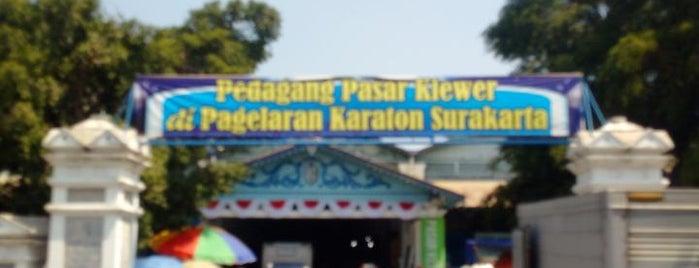 Kampung Batik Pasar Klewer is one of Java / Indonesien.