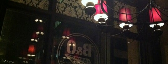 B&O American Brasserie is one of Favorite Drinking Spots in Bmore.