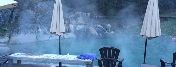 Gold Fork Hot Springs is one of Idaho Fun.
