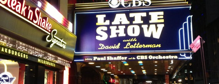 The Late Show with David Letterman is one of Nueva York.