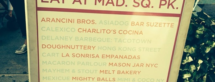 Mad. Sq. Eats is one of Food Near the Venues.