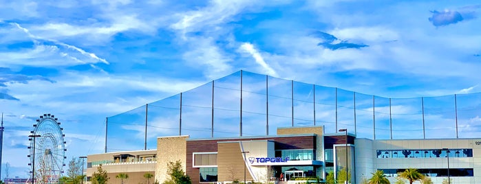 Topgolf is one of Orlando.