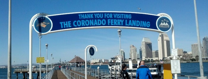 Coronado Ferry Landing is one of KATIE : понравившиеся места.