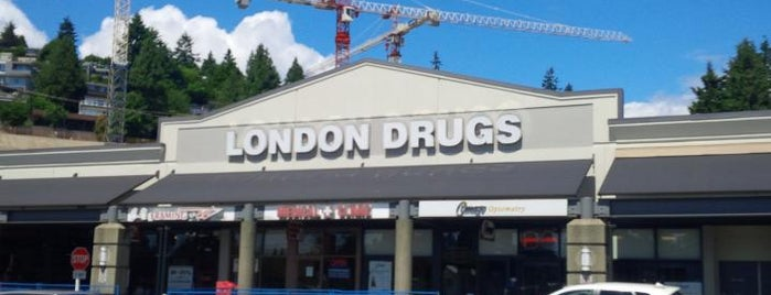 London Drugs is one of Tempat yang Disukai Jus.