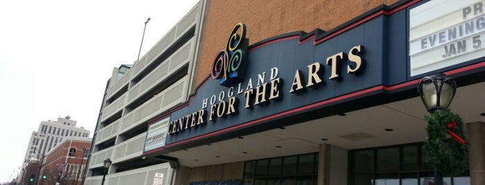 Hoogland Center for the Arts is one of To Tip.