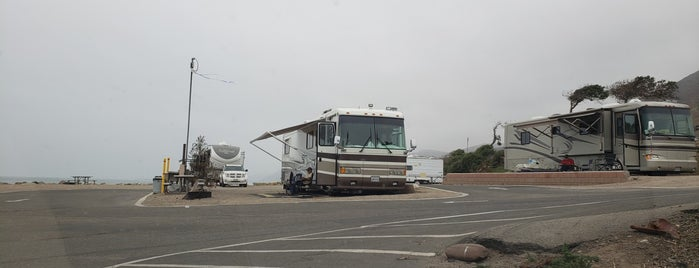 Faria Beach Campground is one of Camping.