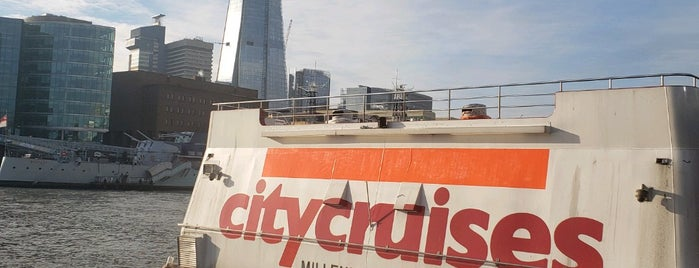 City Cruises is one of London.