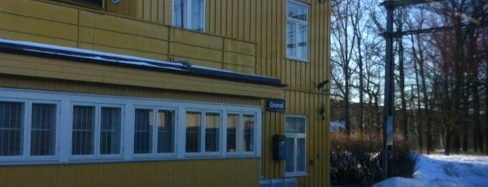 Grorud stasjon is one of mody.