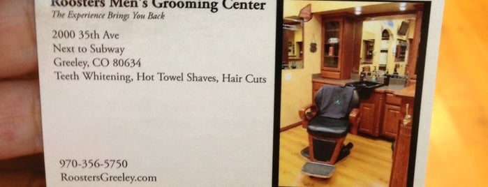 Roosters Men's Grooming Center is one of Orte, die Lauren gefallen.