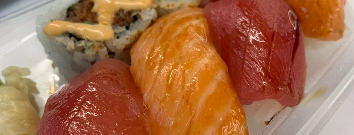 Bento Sushi is one of NYC: FiDi Luncher.