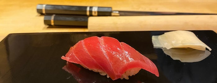Sushi Ryusuke is one of Tempat yang Disukai Charles.