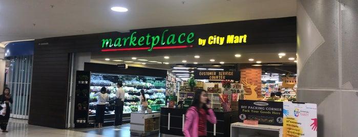 Marketplace @Junction City is one of Lugares favoritos de 高井.