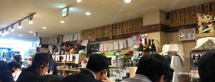 もつ焼き小江戸 is one of Orte, die No gefallen.