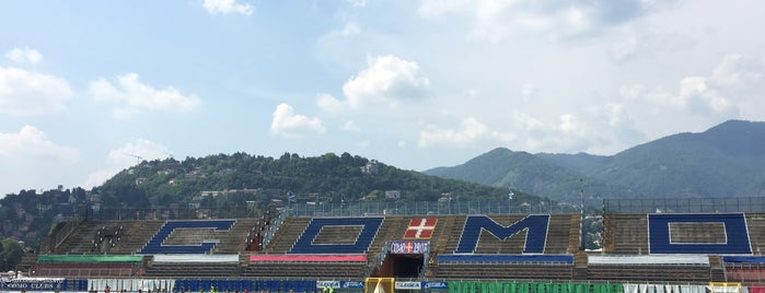 Stadio Giuseppe Sinigaglia is one of Brunate and Como Area with family.